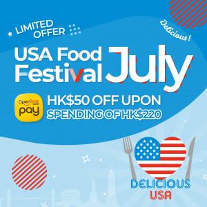 Delicious USA x OpenRice