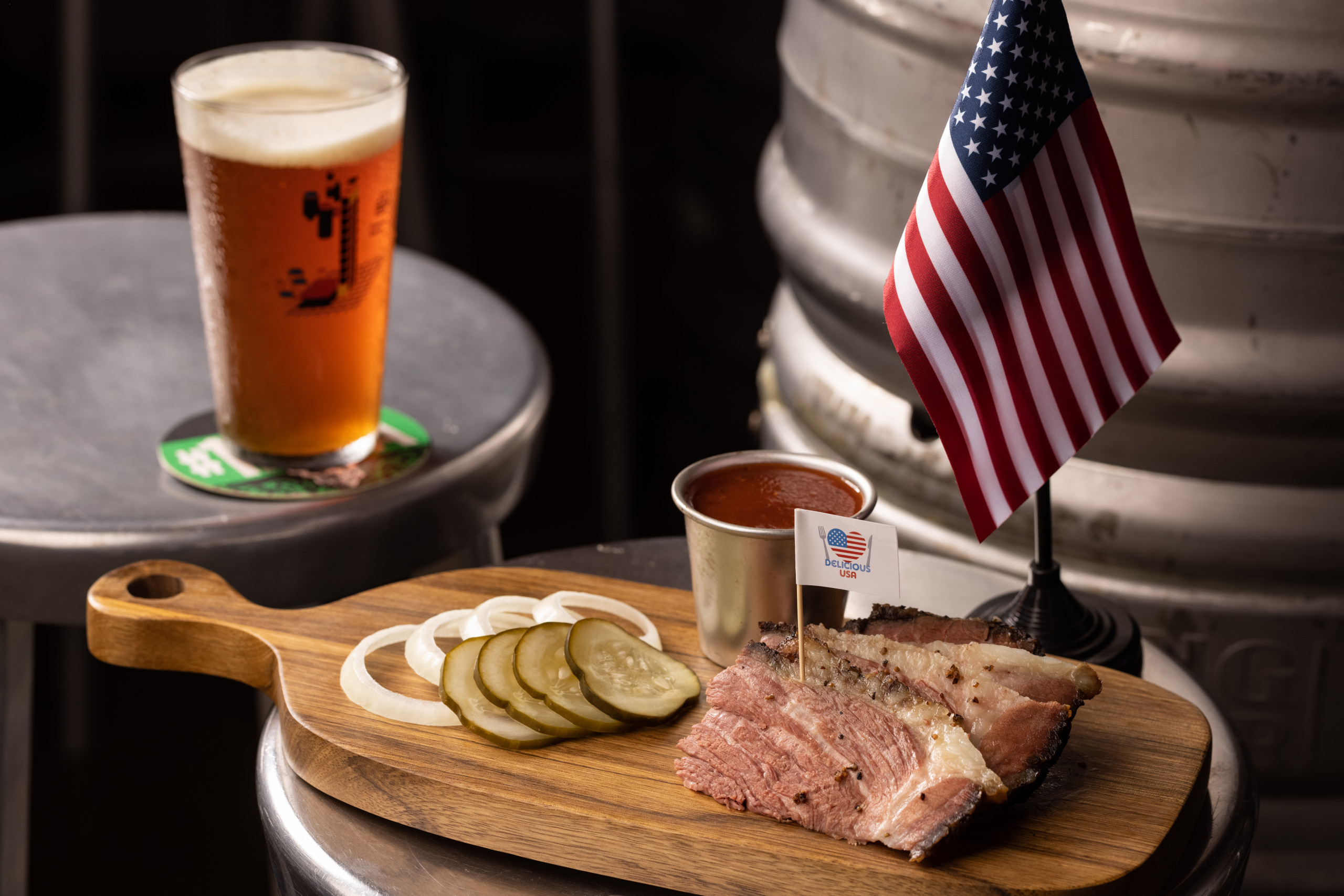 The Roundhouse Taproom x Delicious USA